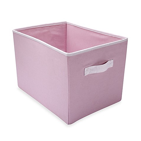 Buy wendy bellissimo mix match storage bin in pink from for Pink bathroom bin