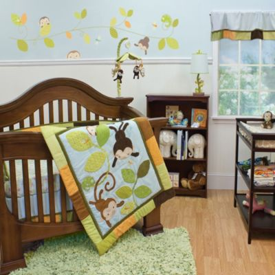 Nurture Imagination Mix & Match Swing 3-Piece Crib Bedding Set