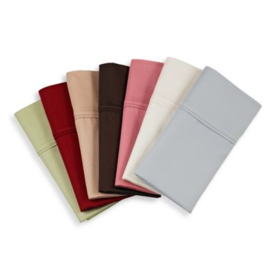 Robin Wilson Home 300 Thread Count Twin Deep Pocket Sheet Set in Chocolate