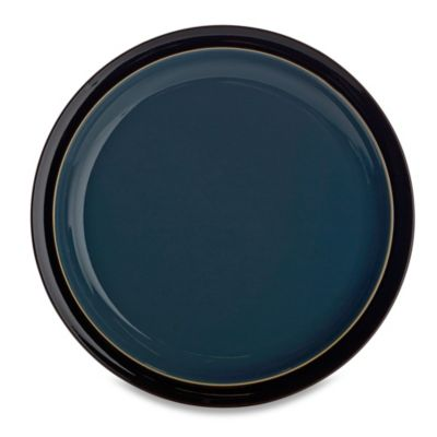 Denby Black Dinner Plate