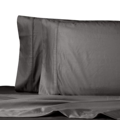 Queen Sheet Set in Charcoal