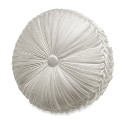 J. Queen New York™ Chantilly Tufted Round Throw Pillow