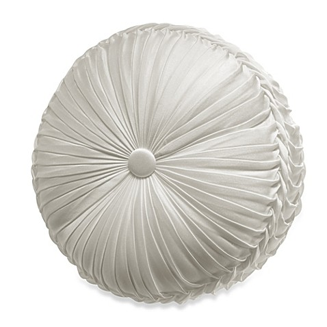 Tufted Round Decorative Pillow : Buy J. Queen New York Chantilly Tufted Round Throw Pillow from Bed Bath & Beyond