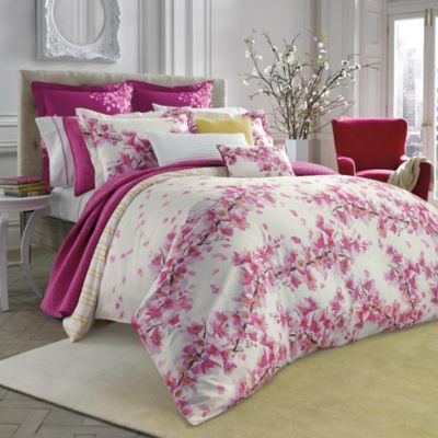 bluebellgray Cherry Blossom Pink European Pillow Sham