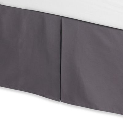 Anthology™ Whisper Bed Skirt in Pewter