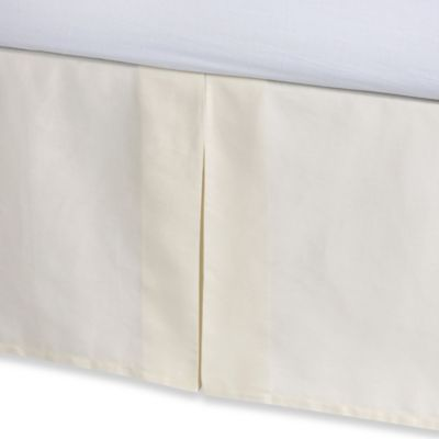 Anthology™ Whisper Bed Skirt in Ivory