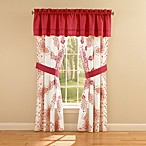 Anthology™ Melody Window Valance in Sangria