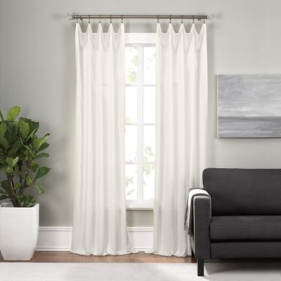 Epic 63-Inch Rod Pocket Window Curtain Panel in Taupe