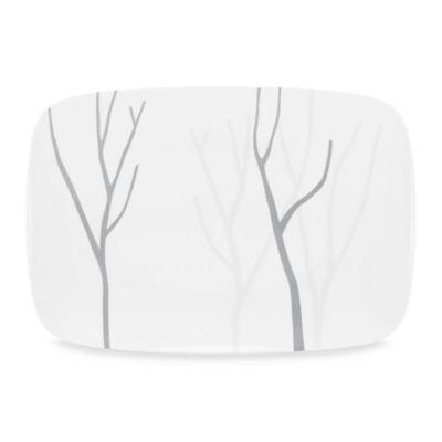 White Square Serving Platter