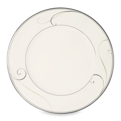 Noritake® Platinum Wave 11 1/2-Inch Dinner Plate