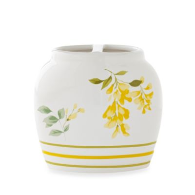 J. Queen New York™ Citron Toothbrush Holder