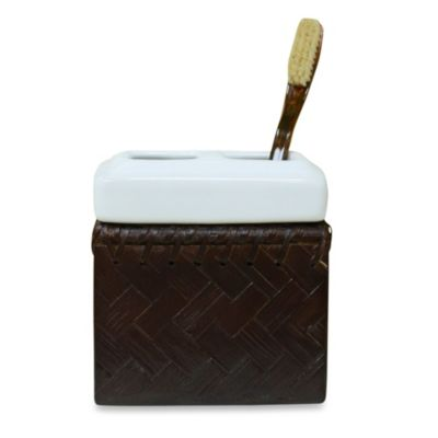 Lamont Home™ Fiji Espresso Toothbrush Holder