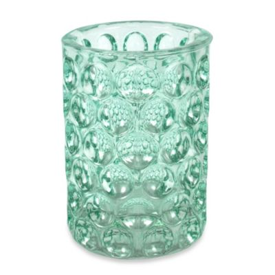 Crystal Ball Glass Bathroom Tumbler in Aruba