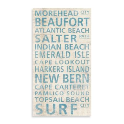 North Carolina Shore Morehead Guest Towel