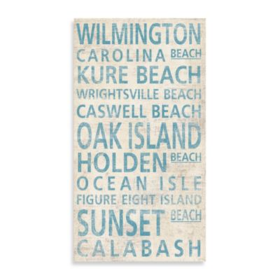 North Carolina Shore Wilmington Guest Towel