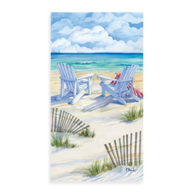Seascape Guest Towel
