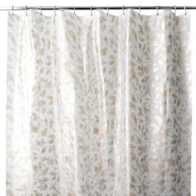 PEVA Trellis Shower Curtain