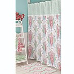 Bardwill Linens Dena Peacock Shower Curtain