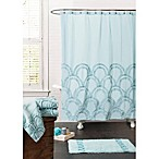 Esme Spa 72-Inch x 72-Inch Shower Curtain in Blue