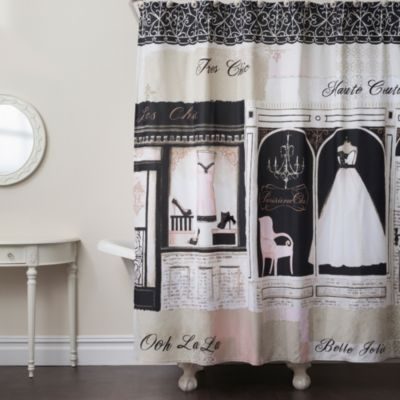 Parisienne Chic Shower Curtain