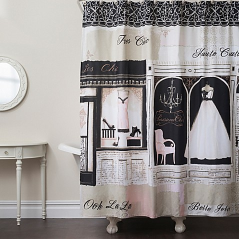 Parisienne Chic Shower Curtain Bed Bath Amp Beyond