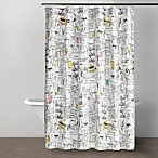 DKNY Broadway 72-Inch x 72-Inch Shower Curtain