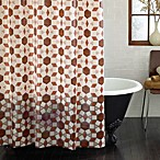 Parquet Wood 70-Inch x 72-Inch PEVA Shower Curtain