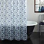 Watercolor Trellis 70-Inch x 72-Inch PEVA Shower Curtain