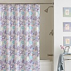 Paper Flowers 70-Inch x 72-Inch PEVA Shower Curtain