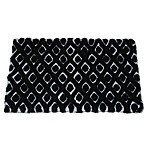 Dena Home Madison Bath Rug in Black