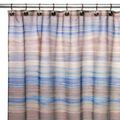 Blue Croscill Shower Curtains