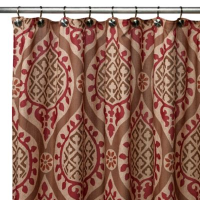 Scroll Shower Curtain