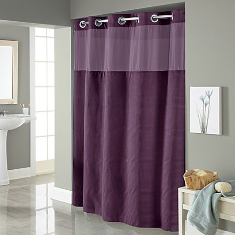Buy HooklessR Waffle 54 Inch X 80 Inch Stall Fabric Shower