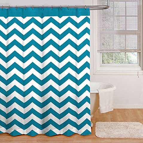 Buy Ryder 72 Inch X 72 Inch Shower Curtain In Peacock Blue