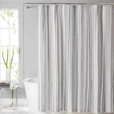 Lancaster 54-Inch x 78-Inch Fabric Stall Shower Curtain