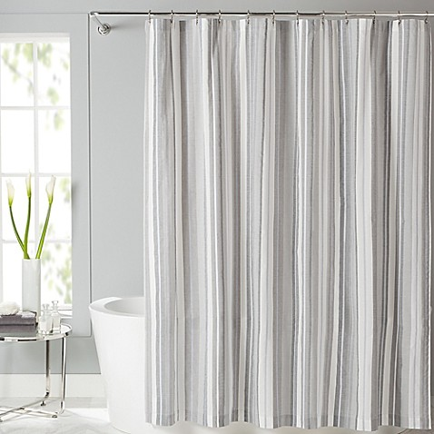 Lancaster Fabric Shower Curtain Bed Bath Amp Beyond