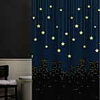 Twinkle 70-Inch x 72-Inch Peva Shower Curtain