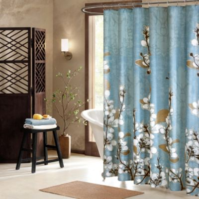 Hanami 72-Inch x 72-Inch Shower Curtain