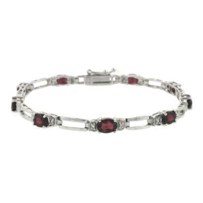 Red Tennis Bracelet
