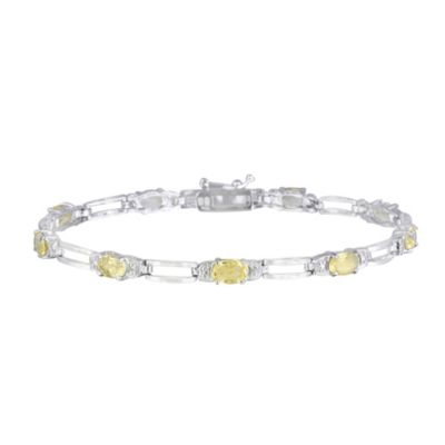 Yellow Tennis Bracelet