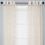 Sloane Sheer Grommet Window Curtain Panels in Ivory