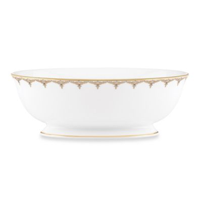 Lenox® Jeweled Saree Gold 9.5-Inch Vegetable Bowl