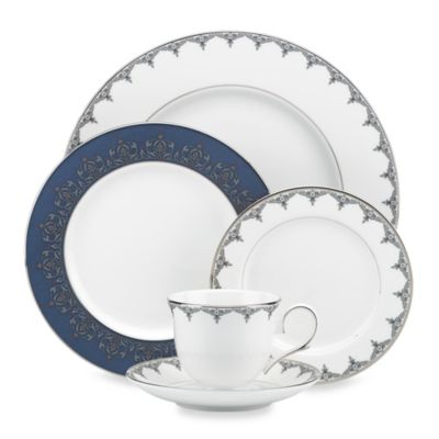 Lenox® Jeweled Saree Platinum 5-Piece Place Setting