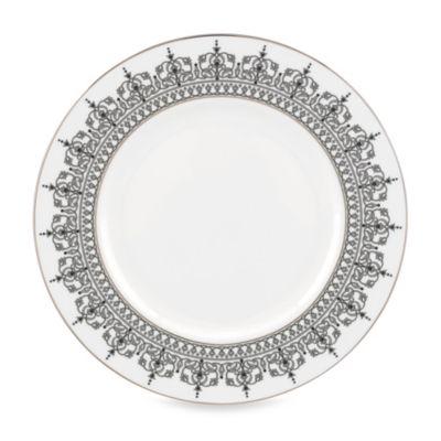 Lenox® Jeweled Saree Platinum 12-Inch Accent Plate