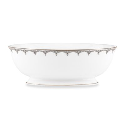 Lenox® Jeweled Saree Platinum 9.5-Inch Vegetable Bowl