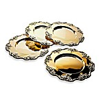 Godinger Silver Brass Grape Chargers (Set of 4)