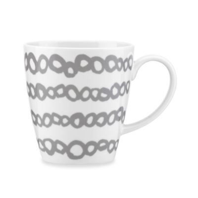 Dansk® Lotta Elope 16-Ounce Mug in Grey