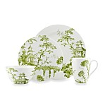 Scalamandre by Lenox® Toile Tale Chartreuse 4-Piece Place Setting