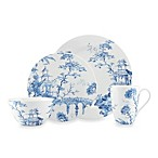 Scalamandre by Lenox® Toile Tale Sky Blue 4-Piece Place Setting