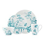 Scalamandre by Lenox® Toile Tale Teal Dinnerware Collection
